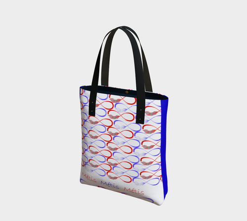 Metis design tote bag handbag