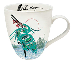 Green Heron 18 oz Mug