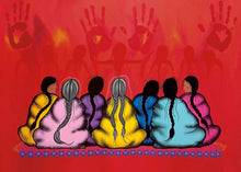 "Load image into Gallery viewer, ""The Sacredness of Women"" Art Card"