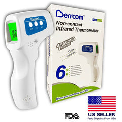 Berrcom Non-contact Infrared Thermometer - (1 Each) - MedStop Solutions