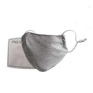 NanoStop® Washable Graphene Cotton PM2.5 Face Mask Set (Mask+2 Filters) - MedStop Solutions