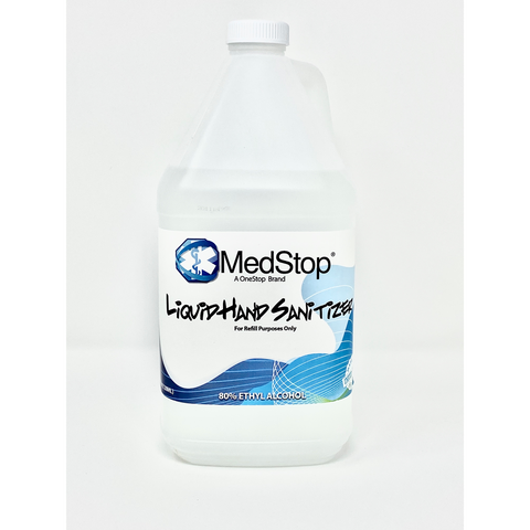 Liquid Hand Sanitizer - (8oz, 16oz, 1Gal) - MedStop Solutions