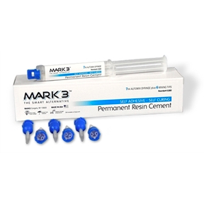 MARK3 Permanent Resin Cement Self Adhesive 7ml Automix Syringe - MedStop Solutions