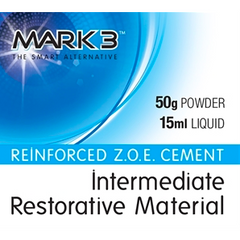 Reinforced Z.O.E. Cement (IRM) 50gm. Powder 15ml. Liquid - MARK3 - MedStop Solutions