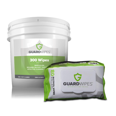 GuardWipes™ Disinfecting Wipes - MedStop Solutions