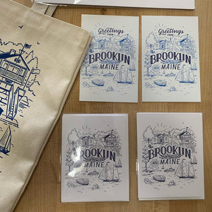Brooklin & Blue Hill Postcards