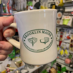 Brooklin Maine Diner Mug
