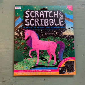 Scratch & Scribble Kits by OOLY