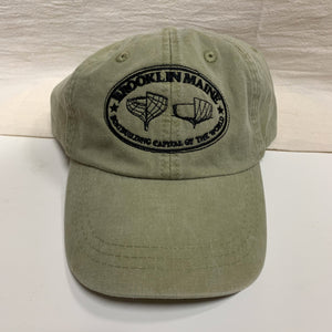 Brooklin Maine Baseball Cap
