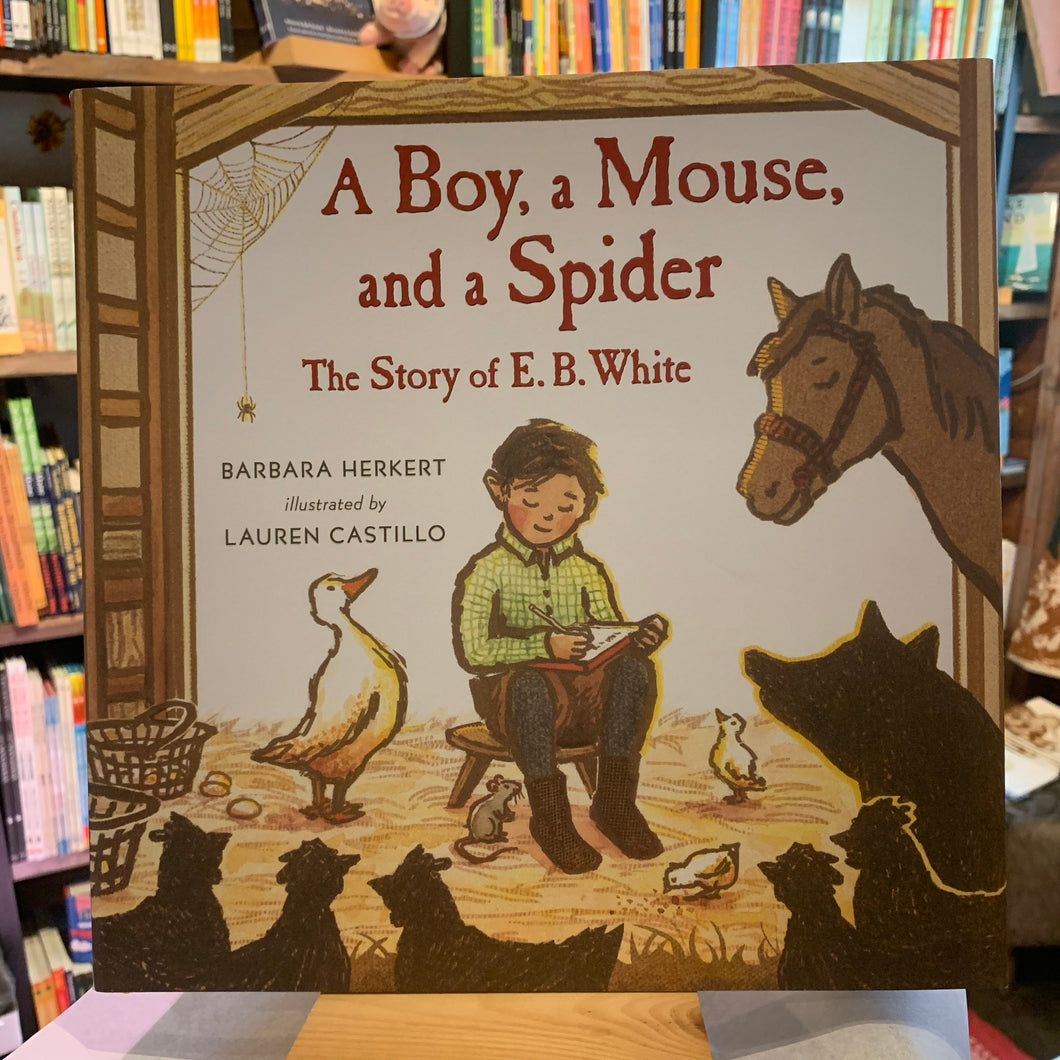 A Boy, a Mouse, and a Spider: The Story of E.B. White