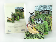Load image into Gallery viewer, Garden Birds Card from Art Angels