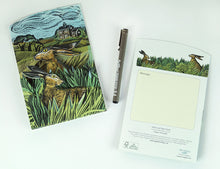Load image into Gallery viewer, Hare & Open Field Card from Art Angels