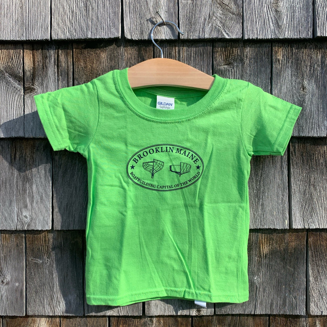 Brooklin Maine Toddler T-shirt