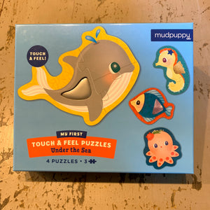 Under the Sea Touch & Feel puzzle by Mudpuppy