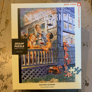 The New Yorker Cover Puzzles: 500 Pieces