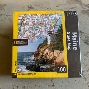 Maine State Map Puzzles