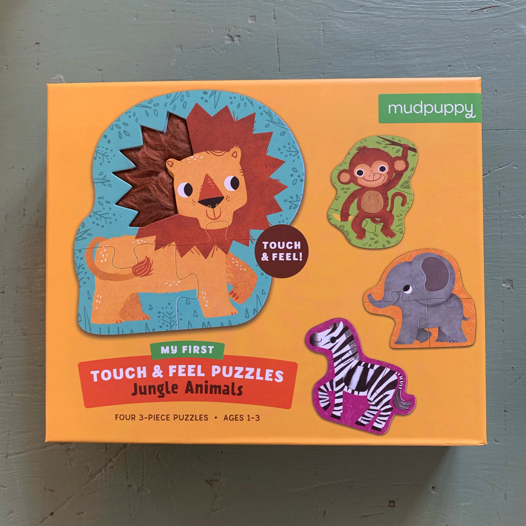 Touch & Feel puzzles by Mudpuppy