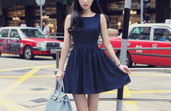 Fashion Sleeveless Slim Fit Dress