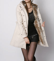 Velvet Thicker Warm Long Sleeve Cardigan Jacket Coat Windbreaker