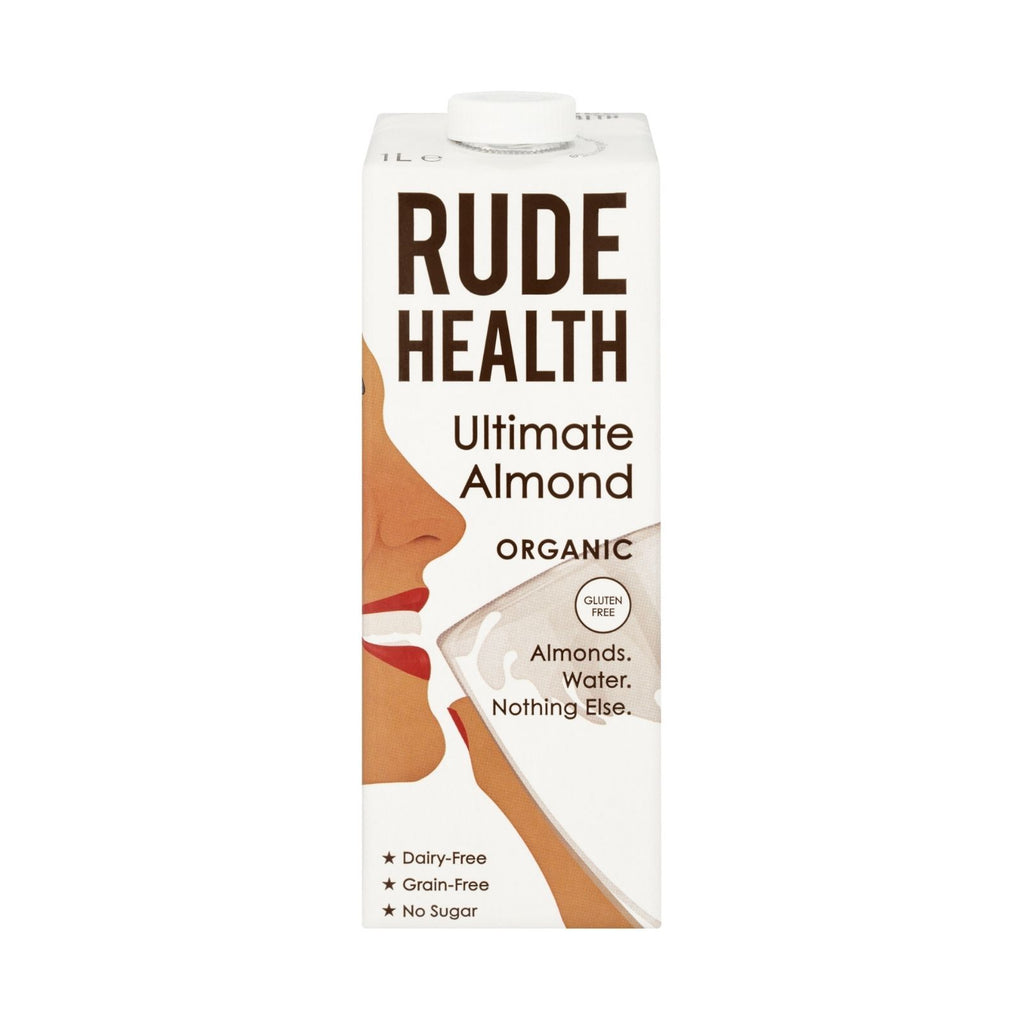 Rude Health - Organic Ultimate Almond Drink (6x1L)