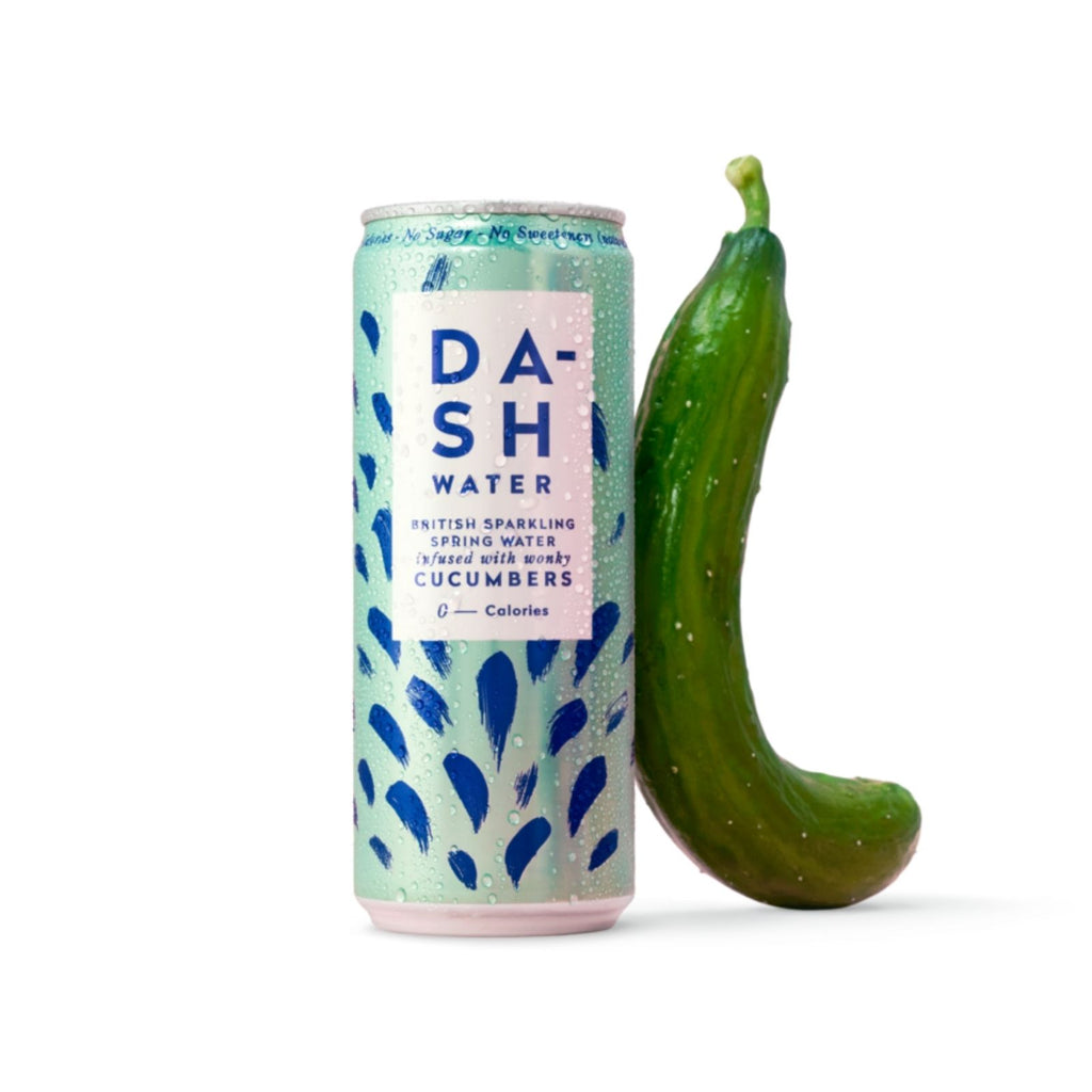 Dash Water - Sparkling Cucumber Multipack (4x330ml)