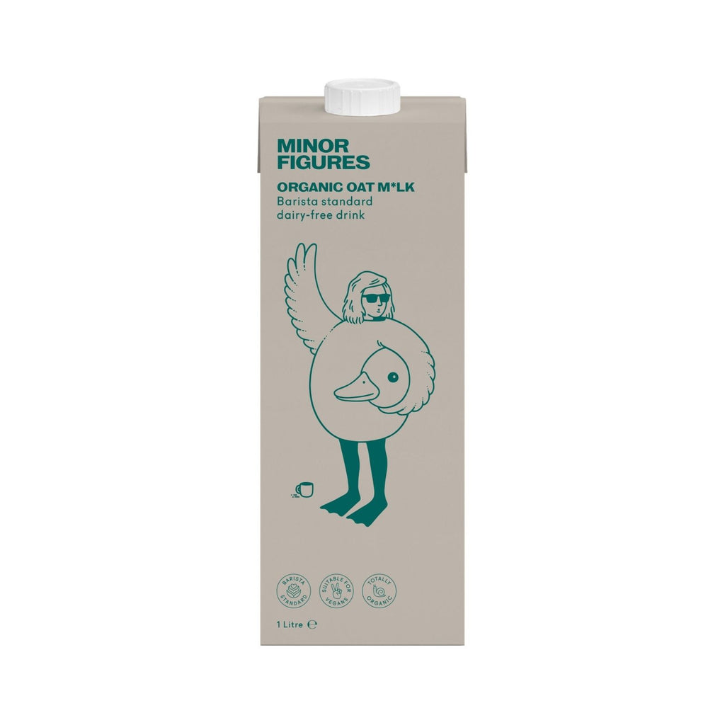 Minor Figures - Organic Oat Milk (6x1L)