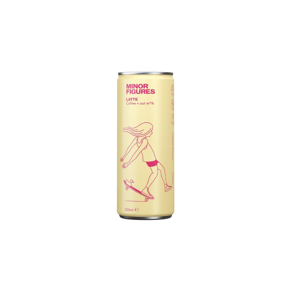 Minor Figures - Nitro Cold Brew Latte (12x200ml)
