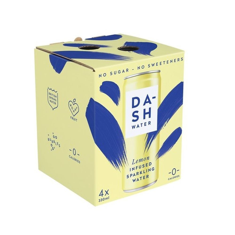 Dash Water - Sparkling Lemon Multipack (4x330ml)
