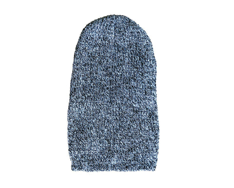 Jersey Marl Thick Knit Mens Ribbed Beanies Warm Winter Multiple Colours