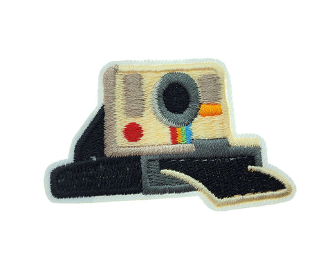 Retro Camera Vintage Iron On Fabric Hipster Patch