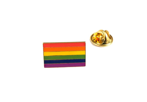 LGBTQ Pride Flag Metal Pin Badge Brooch Equality Gay Rights Trans