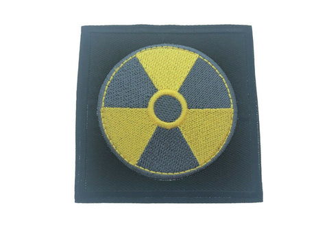 Nuclear Waste Chenobyl Power Plant Toxic Symbol Iron On Patch