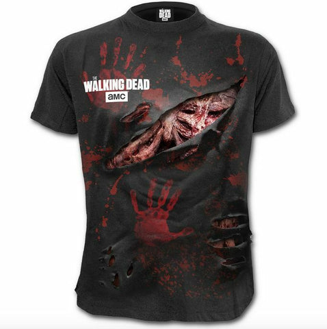The Walking Dead Spiral Direct Daryl 3D Ripped Blood & Guts We're All Infected T