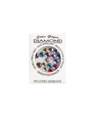 Stargazer Diamonte Pastel Face Body Jewellery Gems Diamonds
