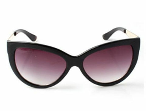Classic Black Cats Eye Womens 50's Rockabilly Pinup Cat Sunglasses