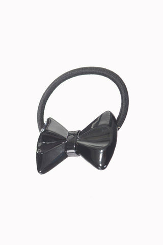 Banned Apparel Luna Gloss Hair Bow Band-Black