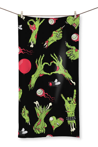 Zombie All Over Print Towel