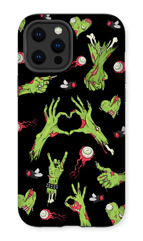 Zombie All Over Print Premium Tough iPhone 12 Phone Case