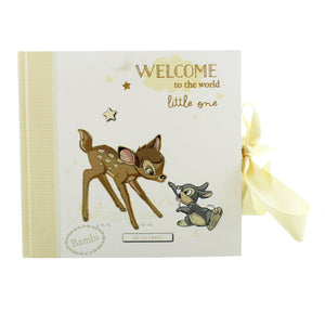 Disney Bambi Welcome to the World baby Photo Album