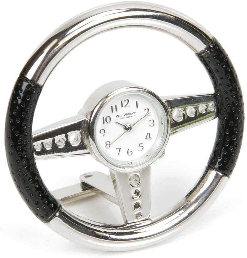 William Widdop Miniature Clock Steering Wheel