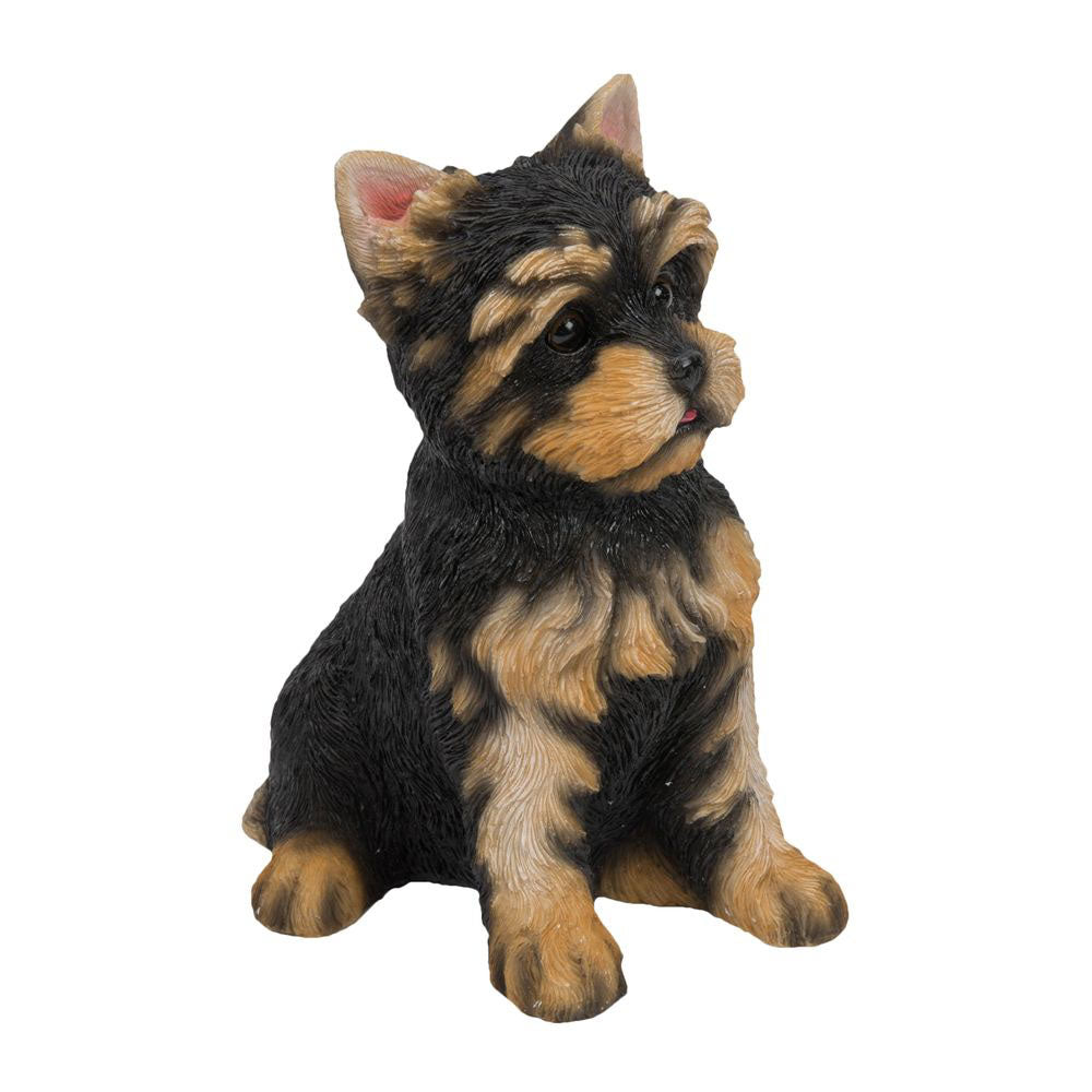Best Of Breed Yorkshire Terrier Pup Figurine