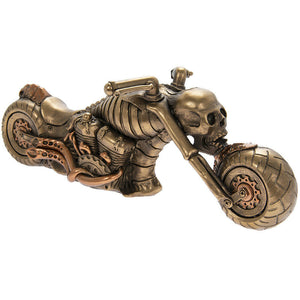 Fantasy Steampunk Ornament Motorbike