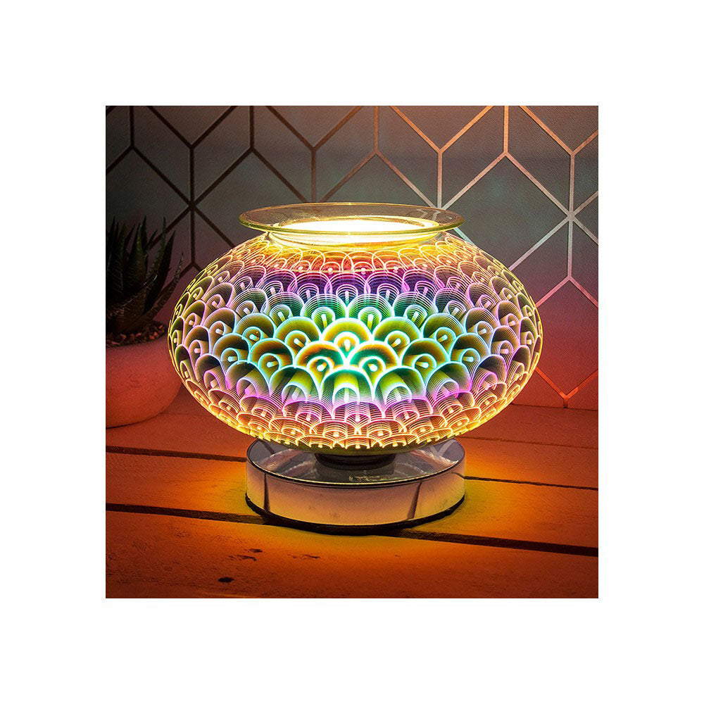 Desire Aroma Electric Wax Melt Burner 3D Touch Lamp