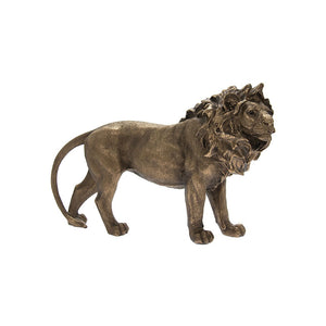 Leonardo Reflections Bronzed Resin Jungle Tiger Ornament