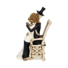 Load image into Gallery viewer, For Better, For Worse Gothic Sugar Skull Bride Groom Figurine Wedding Ornament