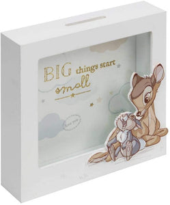 Disney Magical Beginnings Money Box Bambi