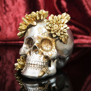 Juliana Day Of The Dead Skull Figurine