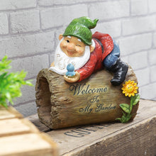 Load image into Gallery viewer, Country Living Garden Gnome Sign - Welcome To My Garden