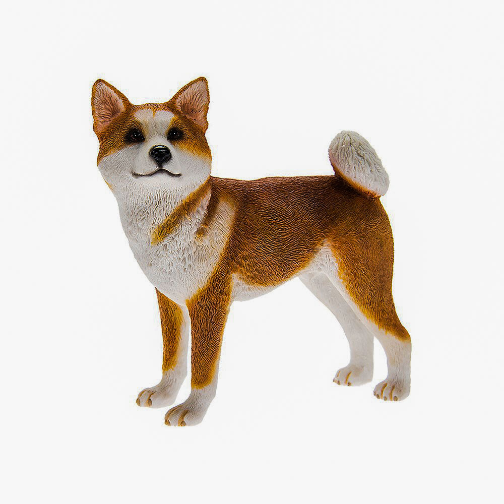 Best Of Breed Akita Dog Figurine