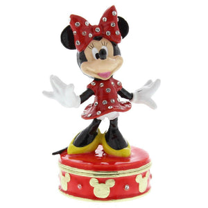 Minnie Mouse Licenced Collectible Disney Classic Trinket Box